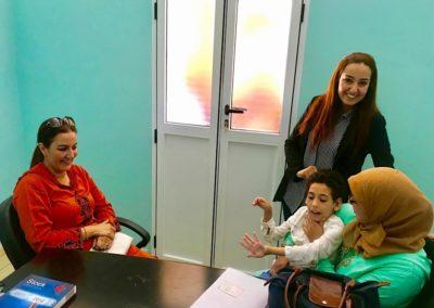 Levée de fonds et parrainage de 6 enfants handicapés IMC à Nador au Maroc – une année de soins de 25 séances