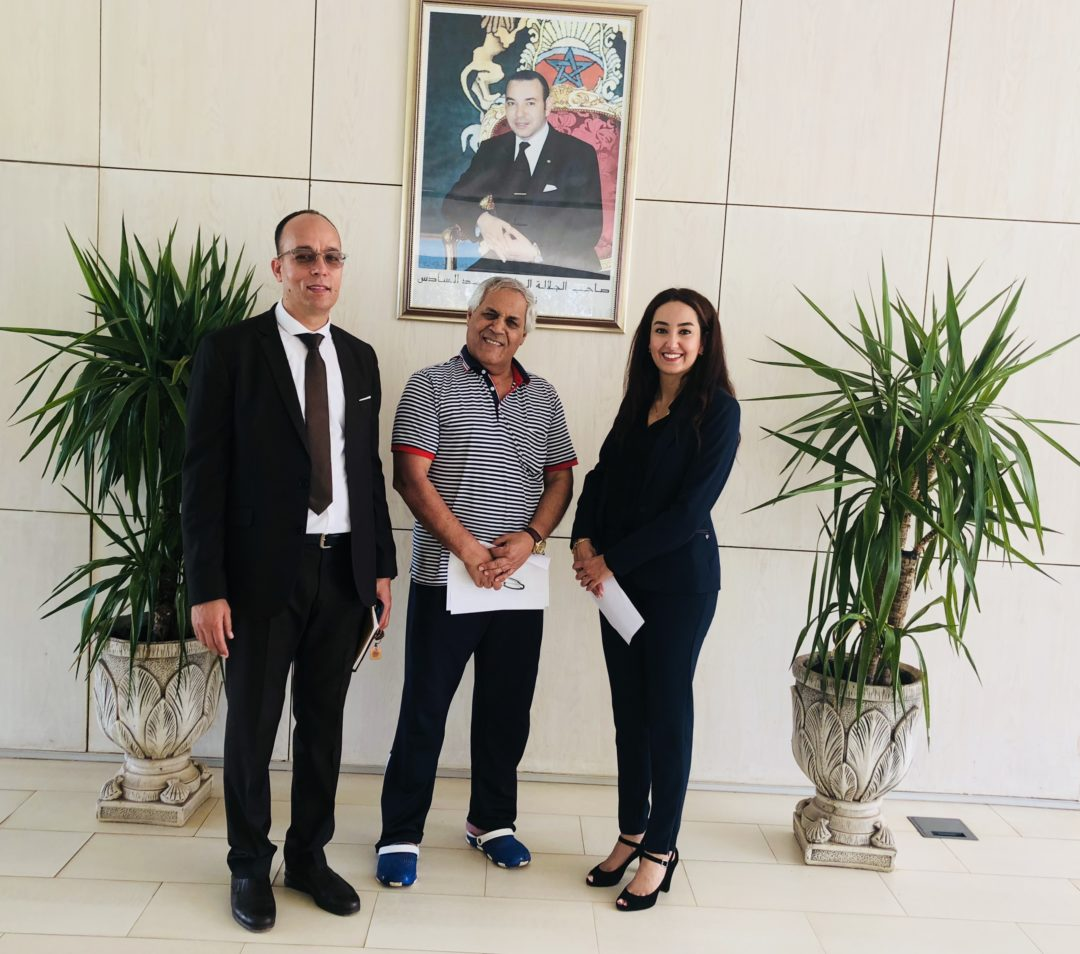 Visite au Centre National Mohammed VI des Handicapés (CNMH)