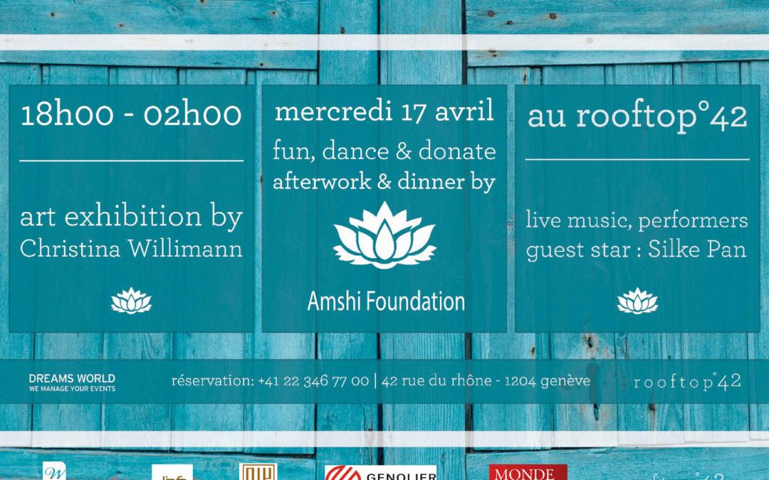 #4 Donate afterwork by Amshi Handicap   –  Soirée Les Arts du Monde !