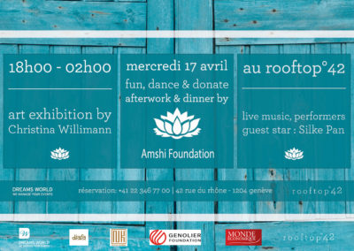 #4 Donate afterwork by Amshi Handicap   –  Soirée Les Arts du Monde !