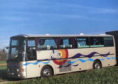 Caravane de donation de matériel en mars 2020
